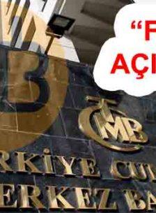 Türkiye Cumhuriyet Merkez Bankasından Dolarda Yaşanan Dalgalanma Açıklaması